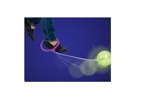 Toysmith Flashing Skip Ball, Assorted Colors (2-Pack)
