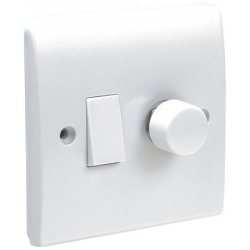 bathroom dimmer light switch powerlektric softedge plus dimmer and plate switch 15792