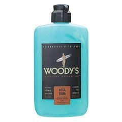 Woody's Mega Firm Hair Styling Gel, 2 oz. by Woody's Grooming by Woody's Grooming
