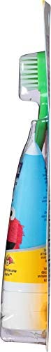 211MnH2CQ L. AC - Orajel Elmo Fluoride-Free Tooth & Gum Cleanser 1.0 Oz. With Toothbrush, Banana Apple, 1 Oz.
