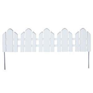 EmscoGroup 2090HD Dackers Resin Adirondack Style Garden Fence, 22 ()