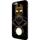 Iron Man the Avengers Marvel Hero for Iphone and Samsung Galaxy Case (iPhone 6 plus black)
