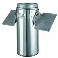 Selkirk Metalbestos 6T-RSP 6-Inch Stainless Steel Roof Support (Stove Venting Cathedral Ceiling Support)