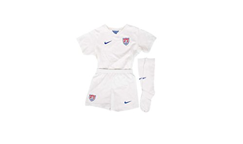 Nike USA Little Boys Home Kit World Cup 2014 [Football White] (L)