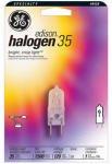 Ge Edison Halogen Bulb 35 W 240 Lumens T4 G8 Carded