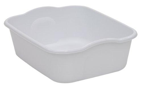 United Solutions BA0040 Eight Quart Dishpan in White-Quality Kitchenware 8 Quart White Dishpan