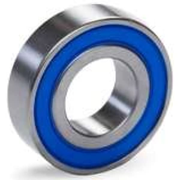 6PCs Spindle Bearings Set 3205‑2RS Bearing Steel Clear Lettering Smooth Mechanical Accessory for Mechanical Lathe Spindle