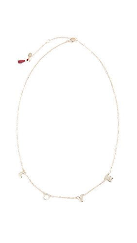 Shashi Women's Love Necklace, Yellow Gold, One Size ()
