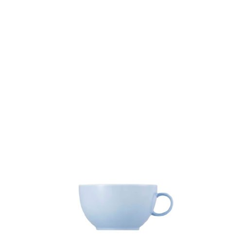 (Thomas Sunny Day Cappuccino Cup, Porcelain, Pastel Blue, Dishwasher Safe, 380 ml, 14672)