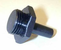 Sherline 1230 - #0 Morse to 3/4-16 Thread Adapter