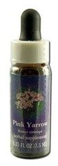Flower Essence Services Supplement Dropper, Pink Yarrow, 0.25 Ounce ()