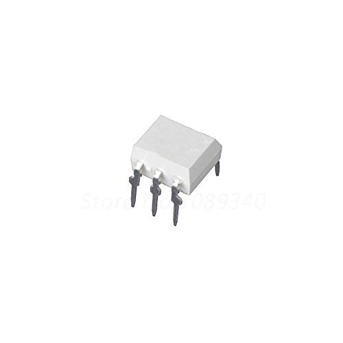 10pcs//lot 4N25 DIP6 Transistor Output optocouplers PTR 20/% 2.5KV New Original in Stock