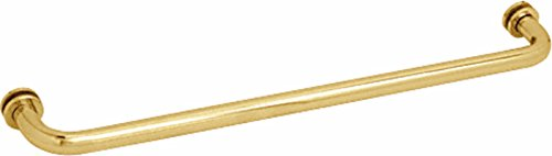 CRL Polished Brass 30' BM Series Tubular Single-Sided Towel Bar -