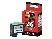 OEM Lexmark 10N0026 Color Inkjet Cartridge