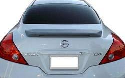 Unpainted 2008-2013 Nissan Altima Coupe Spoiler Custom Style, -