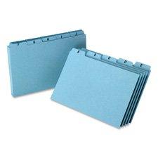 Esselte Pendaflex Corporation ESSP5825 Self-Tab Card Guides- Pressboard- A-Z- 25 PT- 8in.x5in.- BE