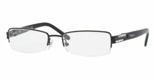 VOGUE Eyeglasses VO 3694B 352 Black 52MM by Vogue