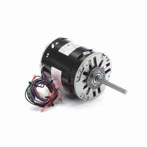 - 1 hp 1075 RPM 3-Speed 48 Frame 460V Direct Drive Furnace Motor Century # BDH1106
