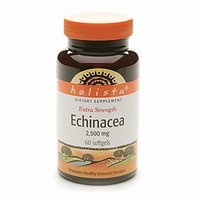 Holista Echinacea Extra Strength, Sofgels 2500mg, 60-Count