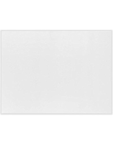 A9 Notecards (5 1/2 x 8 1/2) - Savoy - Bright White (1000 Qty.) by Reich Paper