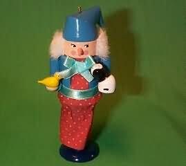 Hallmark Keepsake Ornament - Frieda the Animals' Friend Nutcracker 1992, From North Pole Nutcrackers Collection (QX5264)