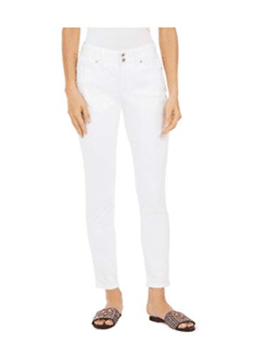 Style & Co. Skinny Curvy Jeans, White 2