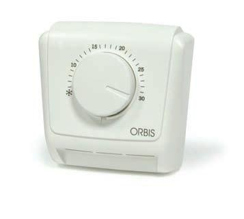 Orbis Clima - MLI 230 V analógico de termostato, OB320522: Amazon.es: Bricolaje y herramientas
