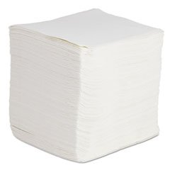 Boardwalk DRC Wipers, White, 12 x 13, 1080/Carton by Boardwalk