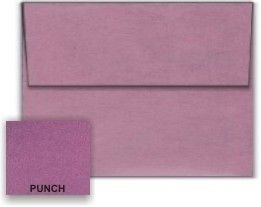 Metallic Punch A6 (4-3/4-x-6-1/2) Envelopes 50-pk - 120 GSM (81lb Text) PaperPapers 4X6 DIY, Social and Invitation - Metallic A6 Envelopes Stardream
