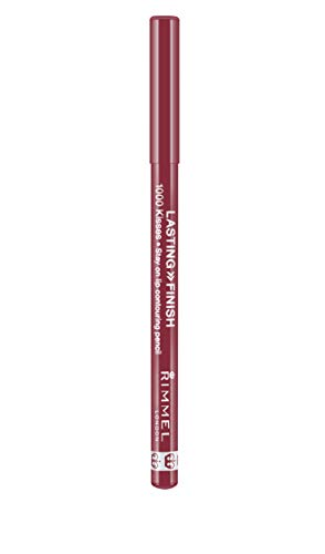Rimmel 1000 Kisses Lip Liner, Indian Pink, 0.04 Ounce (Pack of 3)