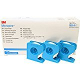 3M Health Care 1535-0 Paper Surgical Tape, Dispenser Pack, ½'' x 10 yd. Size (Pack of 240)