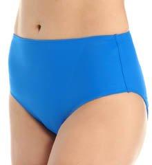 SPANX Mid-Waisted Swim Bottom Electric Blue, 16