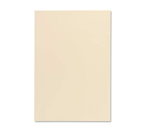 (Premium 61676 Business A4 297 x 210 mm 120 GSM Wove Paper - Cream (Pack of 50))
