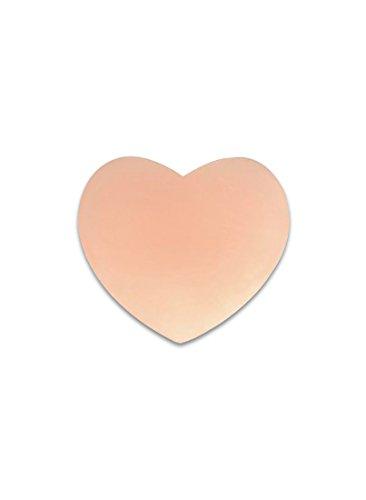 SODACODA Nipple Silicone Copricapezzoli Adesivo Covers Riutilizzabile Beige Capezzolo Cuore 7aqwF7