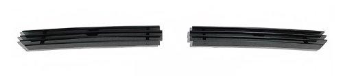 (Fits 03-06 Chevy Silverado 1500/2500 Black Air Dam Billet Grille #C85302H)