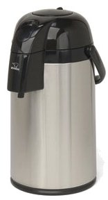 Grindmaster-Cecilware AP-3 Glass Lined Airpot, 101-Ounce, Black and Stainless Steel by Lee Global Imports and Consulting, Inc.