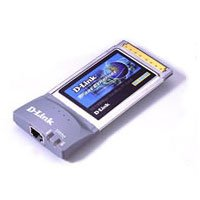 32-bit Fast Ethernet Cardbus Notebook Adapter by D-Link