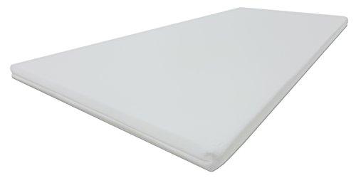 Dibapur® PRO SOFT 3D Air Fresh Bezug Kaltschaum Topper Matratzenauflage (3D Air 90x200) x ca. 5 cm Kern mit Bezug ca. 5,2 cm - Made in Germany