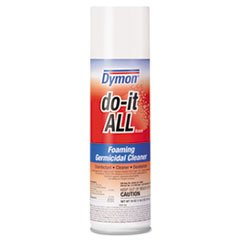 ITW Dymon Do It All Disinfecting Cleaner, Foaming, Case of 12 (DYM08020) Category: Disinfecting Wipes, Cleaners and Sanitizers