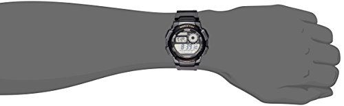 Casio Men's AE-1000W-1AVCF Resin Sport Watch with Black Band
