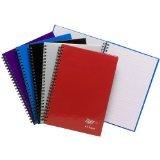 4 x Tiger blau A5 twinwire Manuscript Notebook mit 80 Blatt schwach liniert 60 g m² Papier B00ZYU7EW8 | Outlet  | Exquisite (mittlere) Verarbeitung  | Charakteristisch