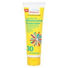 Walgreens Moisturizing Sunscreen Lotion SPF 30 Tube3.0 oz 6 Pack