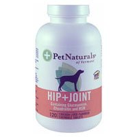 Pet Naturals of Vermont Hip and Joint For Dogs - 60 Chewable Tablets, Pack of 6