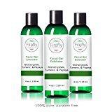 Kat's Firefly Cosmetics Gel Exfoliant Scrub Turmeric, Papaya, Pomegranate and Jojoba Oil - 4 oz