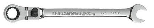 GEARWRENCH 85718 9/16-Inch XL Locking Flex-Head Ratcheting Combination Wrench