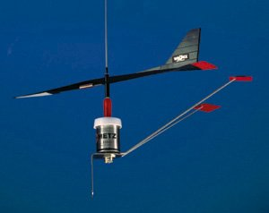 Davis AV Antenna Mounted Wind Vane (15-Inch)