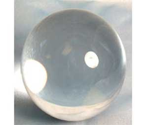 AzureGreen Fortune Telling Toys Crystal Balls Divination Tool See The Future 150mm Clear 6'' by AzureGreen