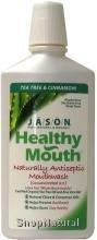 Mouthwash, Healthy Mouth, Tea Tree & Cinnamon, 16 oz. (Mouthwash Refreshing Super)