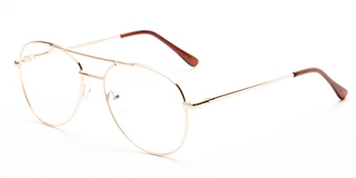 Readers.com The Sonoma +2.25 Gold Men's Classic Metal Aviator Reading - Aviators Com