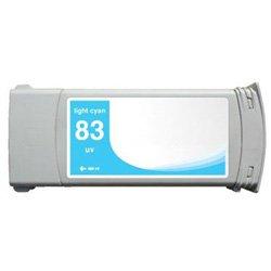Compatible Pigment Light (Ink Pipeline Premium Compatible Cartridge for HP DesignJet 5000, 5500 Series Pigment Light Cyan (775 ml) C4944A)
